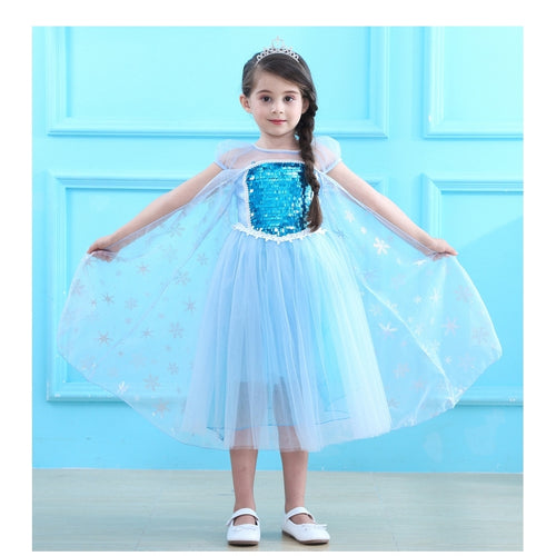 Frozen Princess Dress + Crown