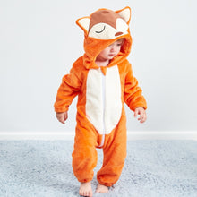 Load image into Gallery viewer, Flannel Romper Fox - Mom and Bebe Ph