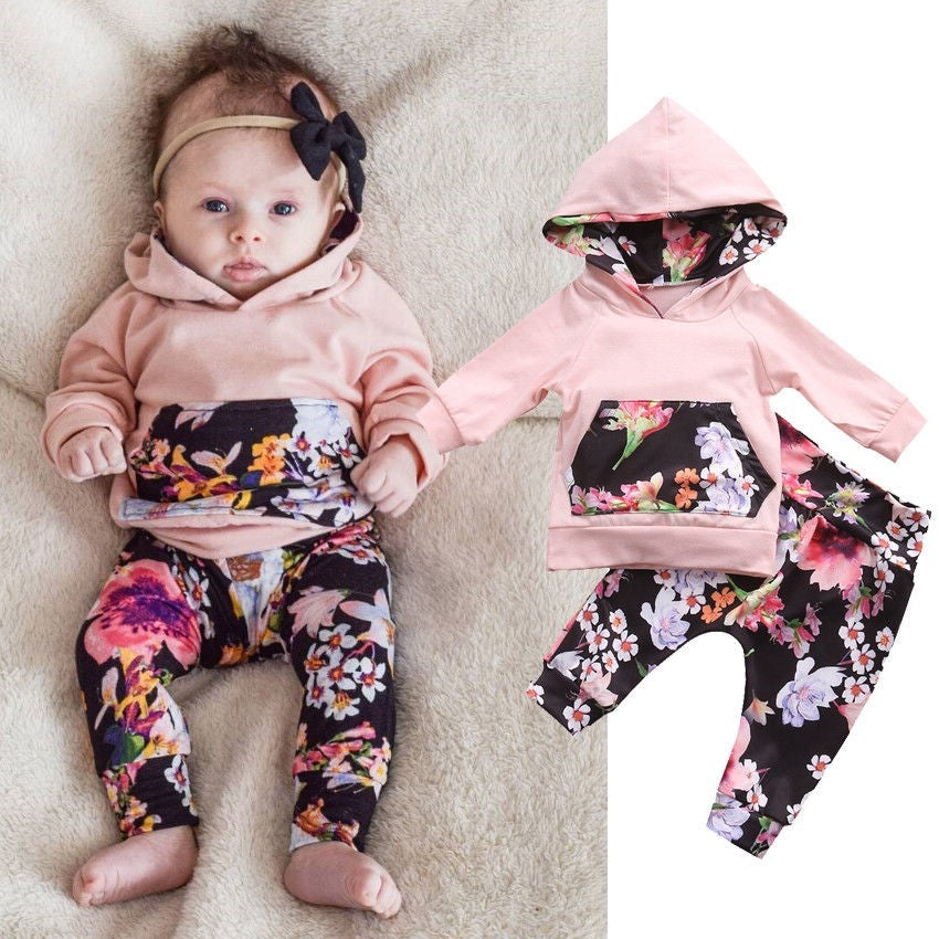 Hooded Jacket + Pants - Mom and Bebe Ph