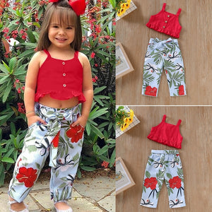 Red Top & Pants - Mom and Bebe Ph