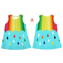 Load image into Gallery viewer, Rainbow Girls Dress - Mom and Bebe Ph
