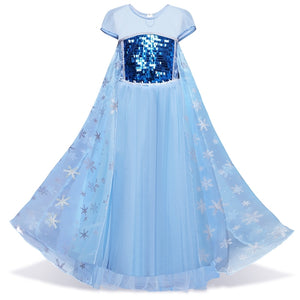 Frozen Princess Dress + Crown - Mom and Bebe Ph