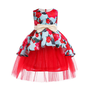 Red Roses Kids Dress - Mom and Bebe Ph
