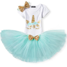 Load image into Gallery viewer, Unicorn Romper Tutu Set - Mom and Bebe Ph
