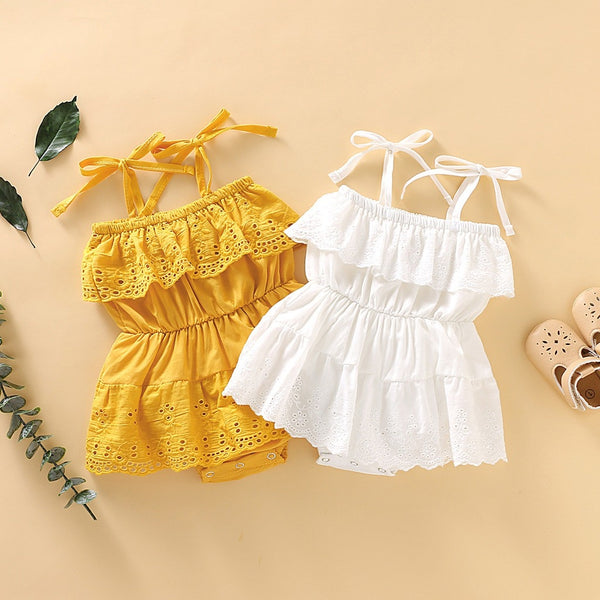2 Rompers Set