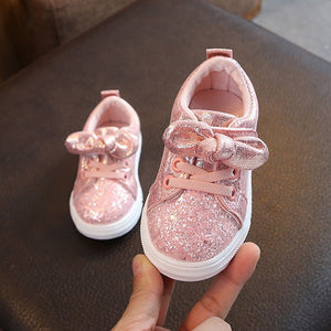 Sparkly Bow Shoes - Mom and Bebe Ph