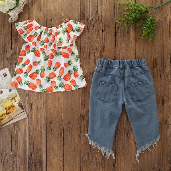 Top + Jeans 1-6y - Mom and Bebe Ph