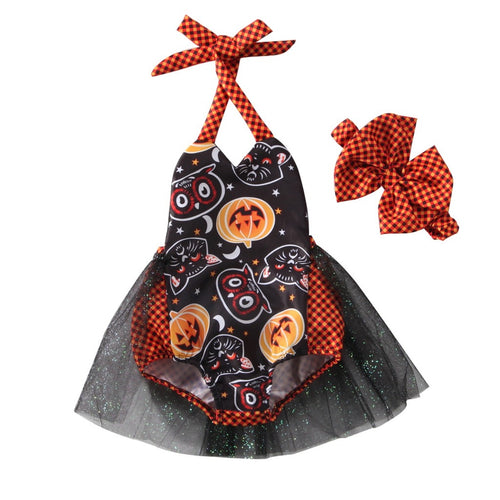 Halloween Dress + Headband