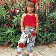 Load image into Gallery viewer, Red Top & Pants - Mom and Bebe Ph