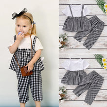 Load image into Gallery viewer, Plaid Top & Pants - Mom and Bebe Ph