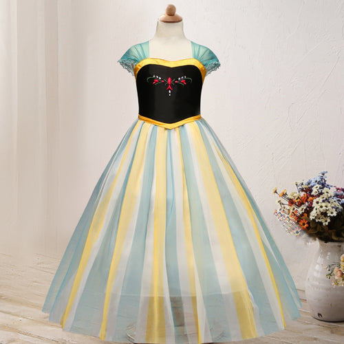 Frozen Princess Anna Dress 4-10Y