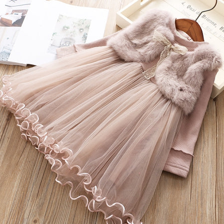 Naila Dress Beige