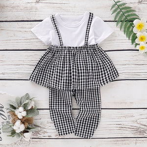 Plaid Top & Pants - Mom and Bebe Ph