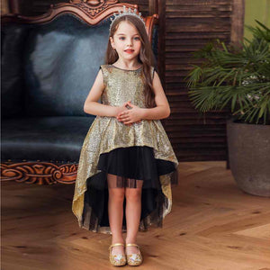 Champagne Kids Gown - Mom and Bebe Ph