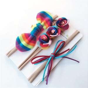 Rainbow 3pcs Headbands - Mom and Bebe Ph