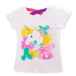 3pcs Unicorn T-Shirts - Mom and Bebe Ph