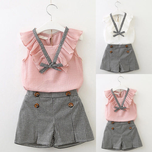 Blouse & Shorts Set