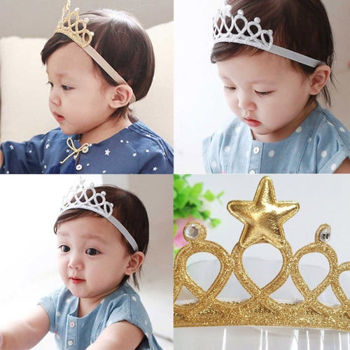 Crown Headband Gold/Silver