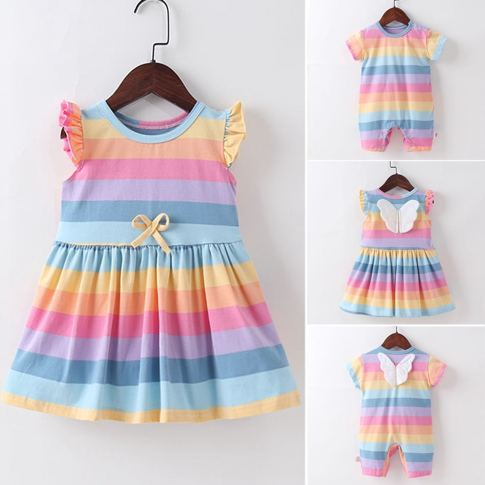Rainbow Dress/Romper - Mom and Bebe Ph