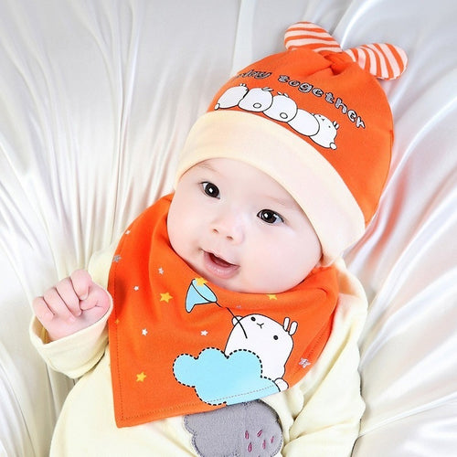Baby's Hat & Bib - Mom and Bebe Ph