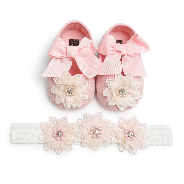 Audrey Shoes + Headband - Mom and Bebe Ph