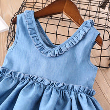 Load image into Gallery viewer, Blue Denim Dress - Mom and Bebe Ph