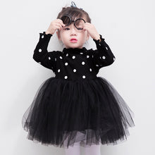 Load image into Gallery viewer, Polka Dot Black Dress - Mom and Bebe Ph