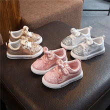Load image into Gallery viewer, Sparkly Bow Shoes - Mom and Bebe Ph