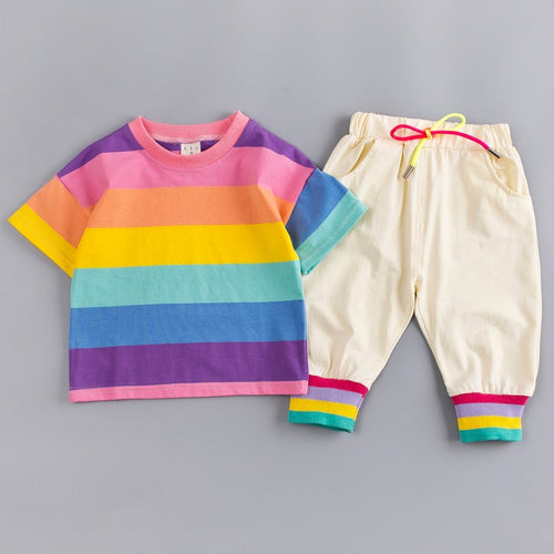 Rainbow Shirt & Pants