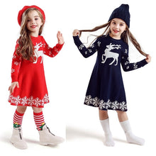 Load image into Gallery viewer, Xmas Dress 3-8Y - Mom and Bebe Ph