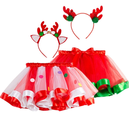 Xmas Tutu Skirt - Mom and Bebe Ph
