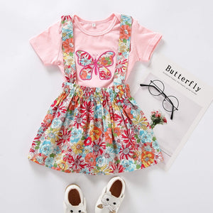 Butterfly Romper + Skirt - Mom and Bebe Ph
