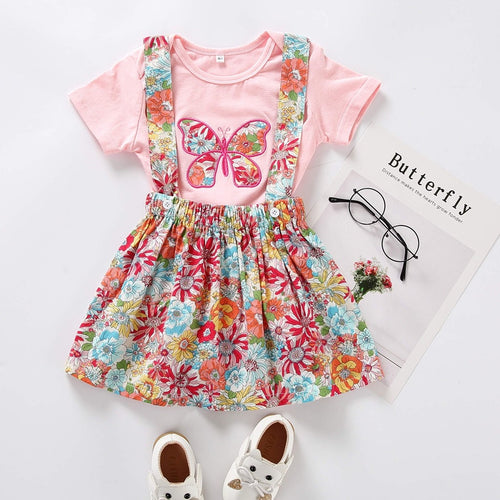 Butterfly Romper + Skirt