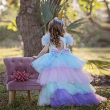 Load image into Gallery viewer, Unicorn Party Dress 4-10Y