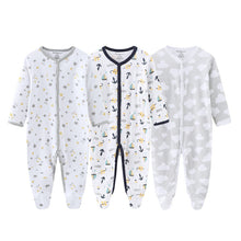 Load image into Gallery viewer, 3pcs Baby Frogsuits