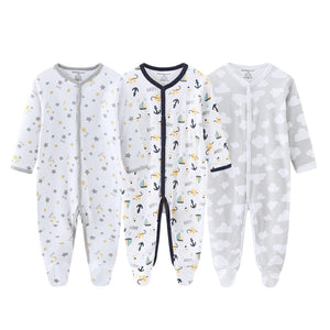 3pcs Baby Frogsuits