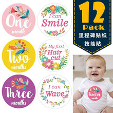 Load image into Gallery viewer, Milestone Stickers 12pcs