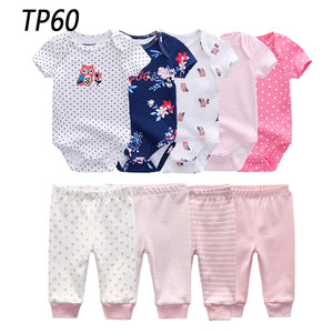 9pcs Baby Clothing Onesies & Pants