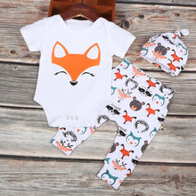 Load image into Gallery viewer, Fox Romper & Pants