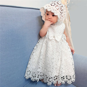 Baptismal White Dress