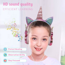 Load image into Gallery viewer, Unicorn Headphones
