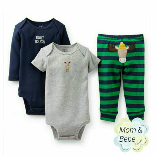 Carters 3pcs Set