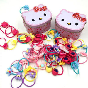 HK Hair Ties 30pcs