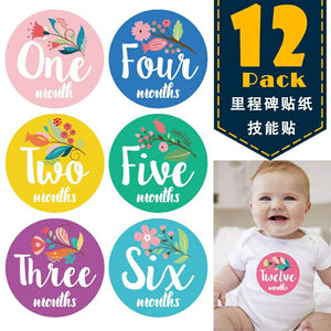 Milestone Stickers 12pcs
