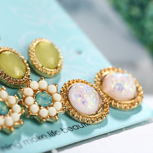 Fashion Earrings 6pairs