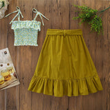 Cute Top Long Skirt - Mom and Bebe Ph