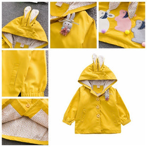 Cute Bunny Coat Jacket - Mom and Bebe Ph