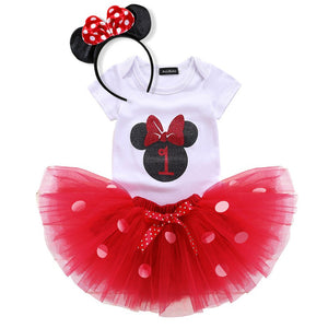 Minnie Mouse Set Skirt Tutu Set - Mom and Bebe Ph