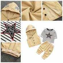 Load image into Gallery viewer, 3pcs/Set Boys Outfit 1-4yo - Mom and Bebe Ph