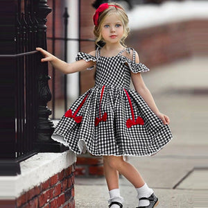 Plaid Dress Bow Details - Mom and Bebe Ph